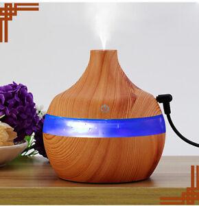 Diffuseur-Huile-Essentielle-300-ml-USB-Arome-Humidificateur-LED-7Couleur