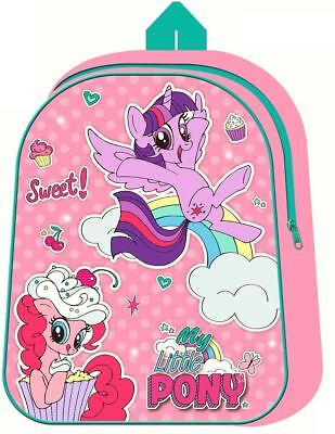 My Little Pony Rucksack Bag Backpack School Kids New Girls Officially Licensed