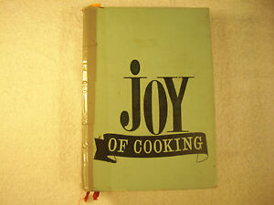 Joy of Cooking Irma S. Rombauer 1967 GC 91-1A