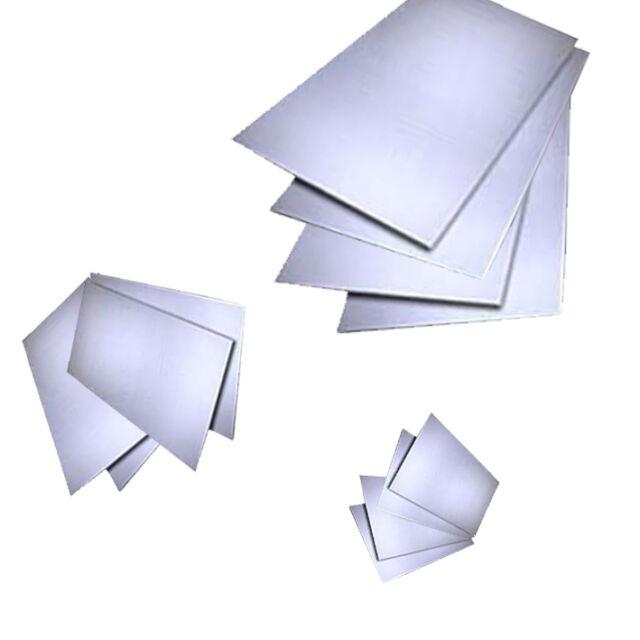 Aluminium Sheet Plate Metal 1mm 1.2mm 1.5 2mm o 3mm Taglierina Taglio Alluminio