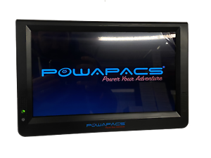 "Powapacs 12/"" DVBT TV NEW Carp Fishing Mini 12/"" DVBT TV PP021"