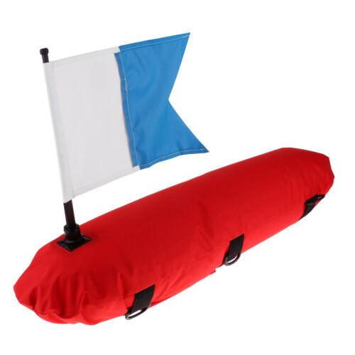 Spearfishing Aufblasbare Sporttauchen Float Boje \u0026 Tauchflagge Für Taucher