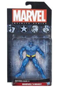 "Hasbro Marvel Infinite Series Avengers 3.75/"" Action Figure #X-men Beast Blue"