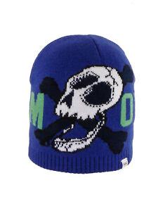 O'Neill Beanie Hat BB Boys o'Neill Beanie Blau Logo Logopatch