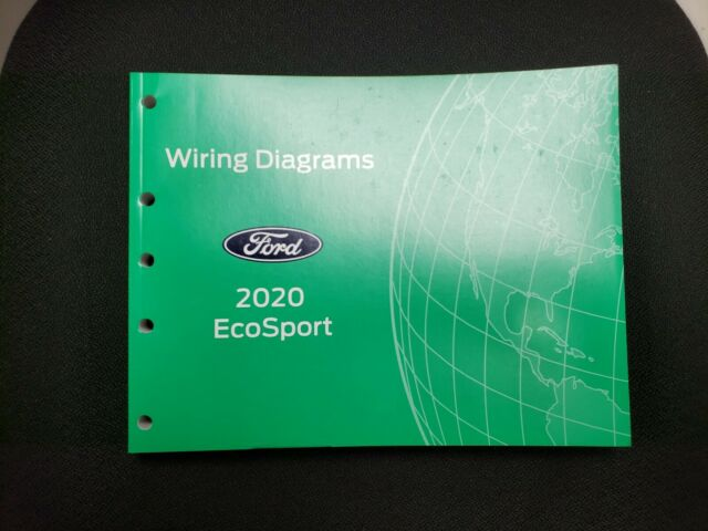2020 Official Ford Ecosport Wiring Diagram Service Manual