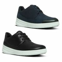 Fitflop™ Sporty-pop™ Ladies Suede/leather Cushioned Casual Lace Up Trainers
