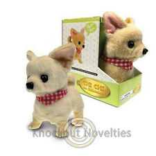 Chi Chi The Chihuahua Bark Walk Toy Dog Puppy Wag Move Walking Barking Realistic