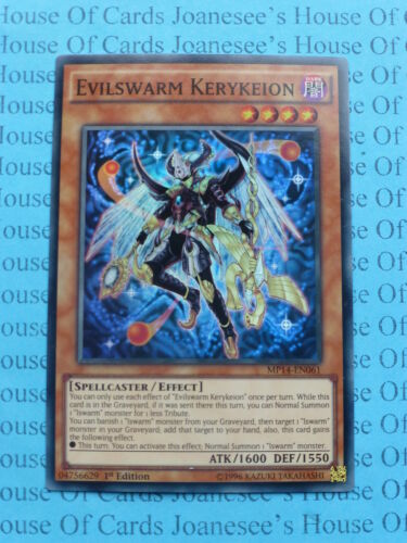 Evilswarm Kerykeion MP14-EN061 Super Rare Yu-gi-oh Card Mint 1st Edition New