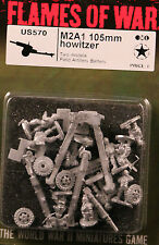 Flames of War U.S. M2A1 105mm Howitzer (US570) NEW