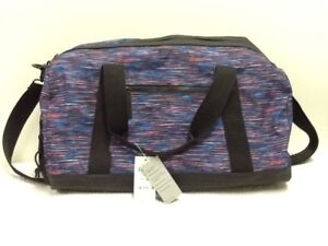 Ideology-Overnighter-Duffle-Bag-Turquoise-One-Size-NWT