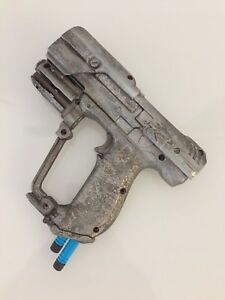 Details about costume made weapon silver halo gun props
