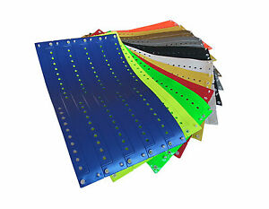 10 Stück  x 10 Farben = 100 L-Vinyl-Kontro<wbr/>llbänder - wristbands - bracelets