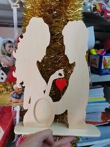 30cm Mamma porta ecografia/ Cornice per foto personalizzabile in legno