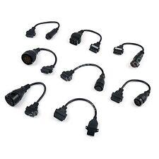 8 x OBD2 Adaptors Truck Kabels Für AUTOCOM CDP PRO Diagnose Interface Scanner