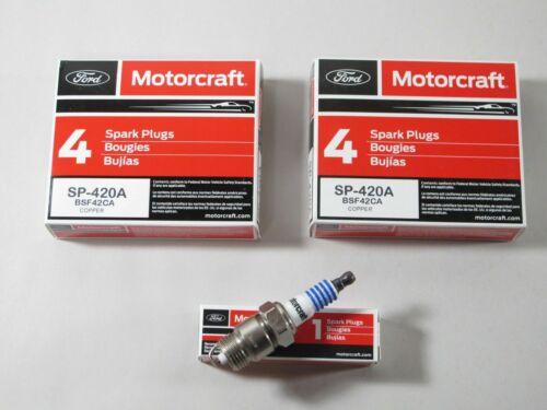 Ford Mercury Motorcraft SP-420A Spark Plug BSF42CA Pack of 8