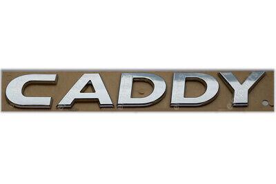 VOLKSWAGEN CADDY III SELF ADHESIVE REAR BADGE EMBLEM LOGO SIGN STICKER GENUINE