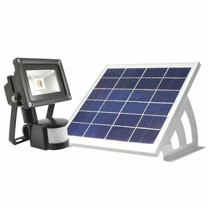 DEL-Solaire-Capteur-de-mouvement-Lampe-d-039-exterieur-projecteur-SMD