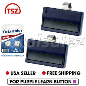 Details about 2 Replacement For LiftMaster 371LM Gate or Garage Door Opener  Remote Transmitter