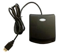 LECTOR DE DNI ELECTRONICO TARJETAS INTELIGENTES USB 2.0 COLOR NEGRO