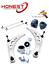 Per-BMW-Z4-E85-E86-03-14-Anteriore-Braccio-Oscillante-Inferiore-Braccia-amp-bushs-amp-Stabilizzatore miniatura 1