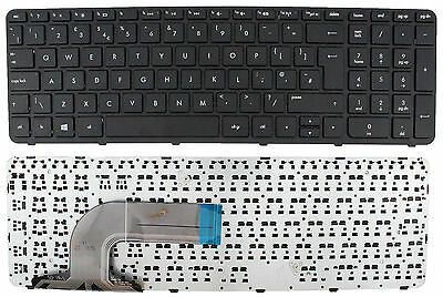 New HP Pavilion 15-N298SA Replacement Laptop Keyboard Black UK With Frame Layout