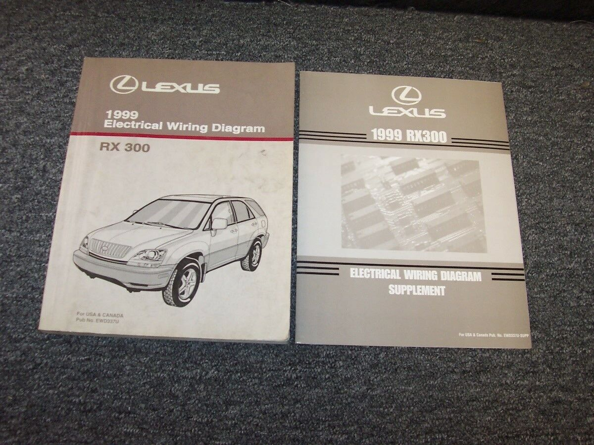 Fantastic 1999 Rx300 Suv Factory Electrical Wiring Diagram Manual 3 0L V6 Set Wiring 101 Mentrastrewellnesstrialsorg
