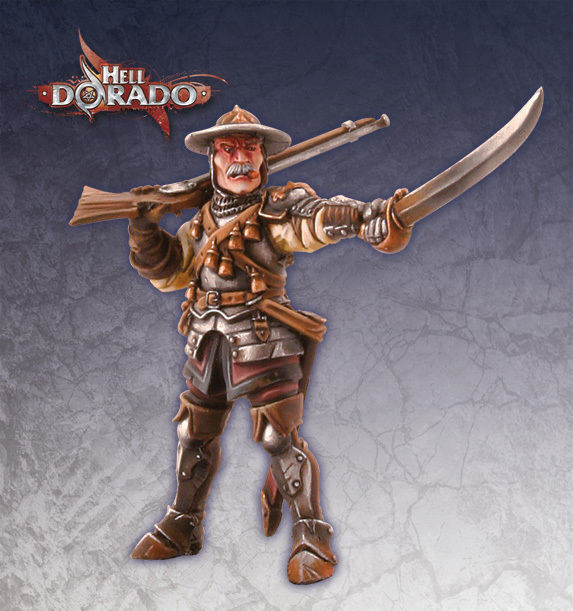 Warhammer Empire or Dogs of War Hero  Hell Dorado Westerners Aidan St. James