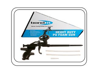 Aplicador de grado profesional Pistola de Espuma en expansión Heavy Duty Teflón Abrigo bondit