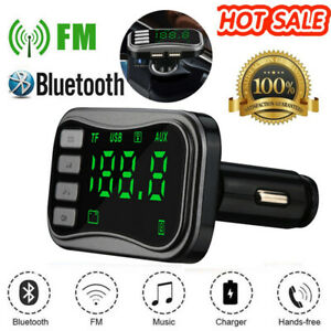 Bluetooth FM Transmitter FM MP3 Players Modulator Handsfree Dual USB Charger A27