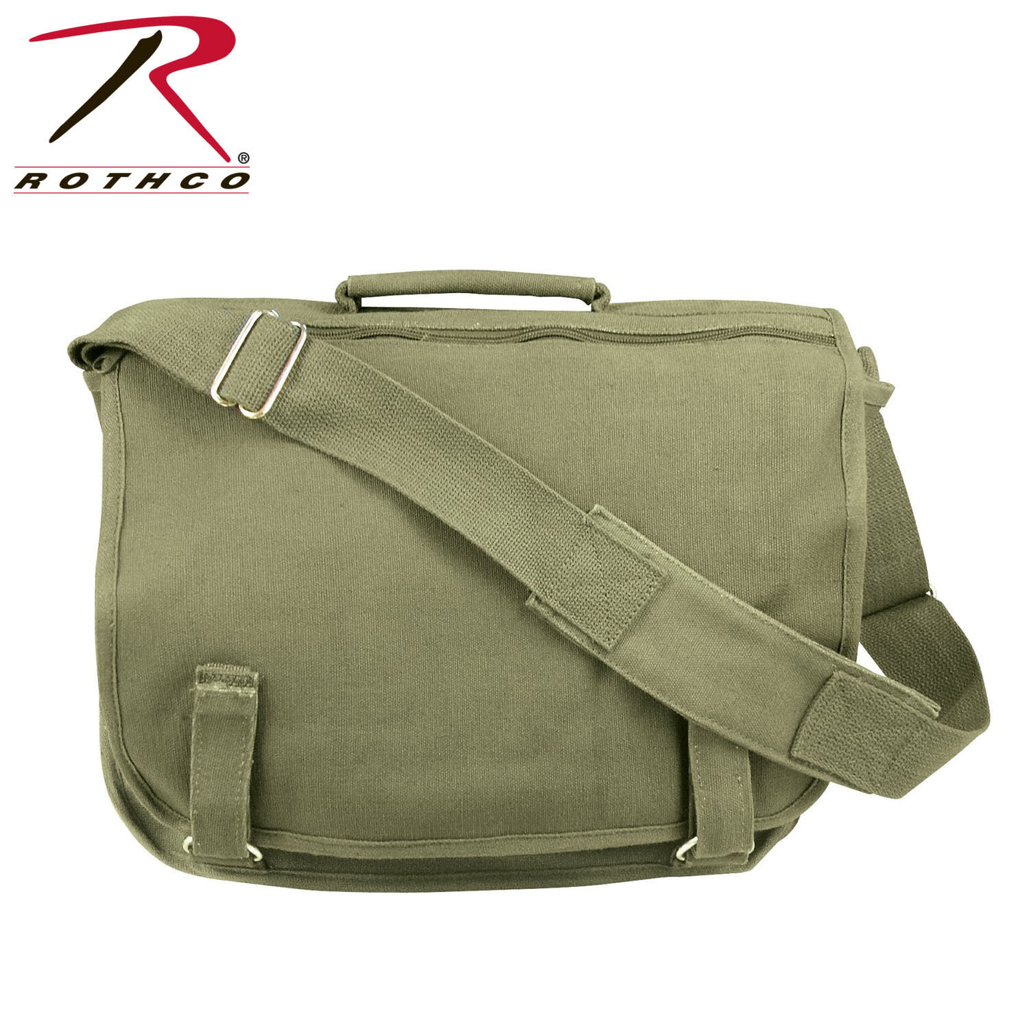 f3c1455f482 ... Shoulder Messenger Bag Convertible Universal Vintage Canvas Laptop  Backpack Rucksack and  Rothco Brown European School Bag 8918 eBay official  photos ...