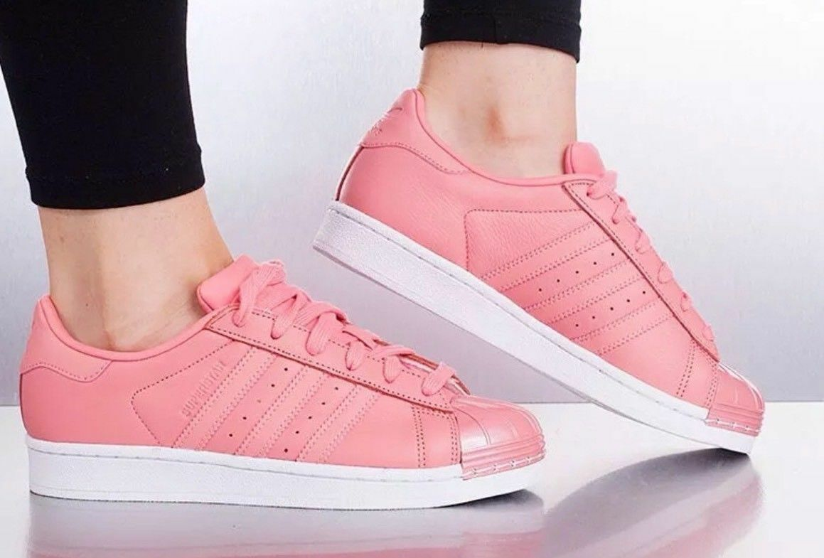 1711 adidas originals superstar metall die rose frauen by9750 Turnschuhe, schuhe