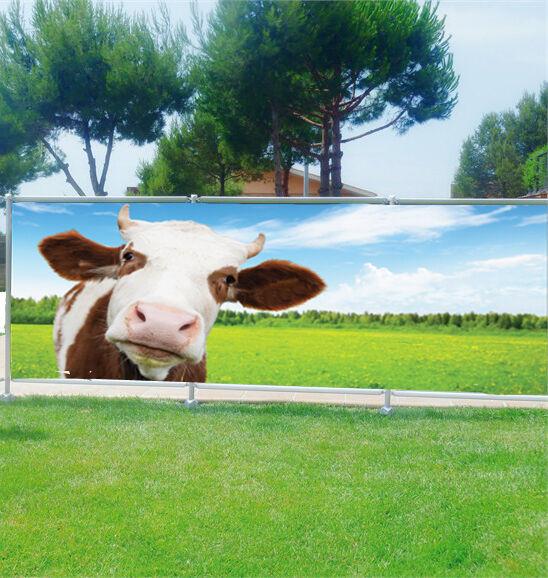 Brise Brise Brise vue déco personnalisé Vache réf 3670 146128