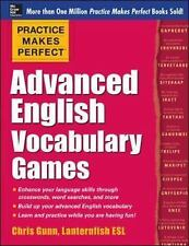 Practice Makes Perfect: Practice Makes Perfect Advanced English Vocabulary...