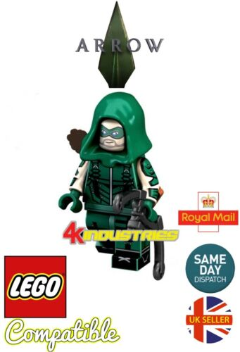 Green Arrow Mini Figure Oliver Queen Crisis On Infinte Earths DC UK Seller