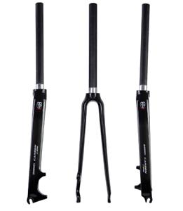 Carbon Fiber Road Bike Fork 700C Dead Flying Fork Disc Brake 1-1 8  Bike Rigid