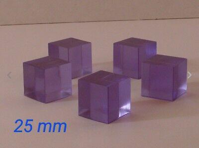 5 Purple Energon Cubes for Masterpiece Transformers MP Optimus Megatron Grimlock