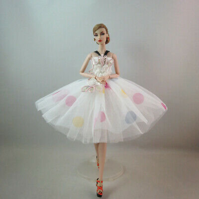 Fashion Lovely Party Dress Ballet Dress Mini Skirt  For 11 inch Doll #05