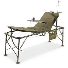 US Army Bed Adjustable Hospital Folding Field SURGICAL Cot Krankenbett Liege