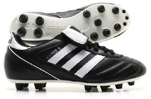free shipping e5ec5 87eba Image is loading adidas-Kaiser-5-Liga-FG-Black-White-033201-