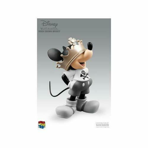 Figure w// Tracking NEW VCD Vinyl Collectible Dolls Mickey Mouse Crown ver
