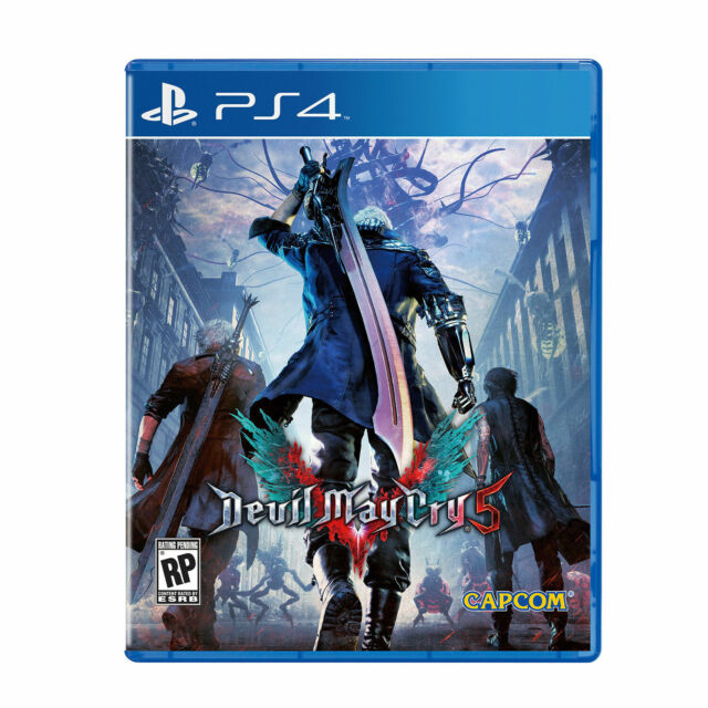 Devil May Cry 5 -- Standard Edition (PlayStation 4, 2019)