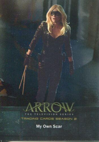Arrow Season 2 Silver Foil Parallel Base Card #41 My Own Scar