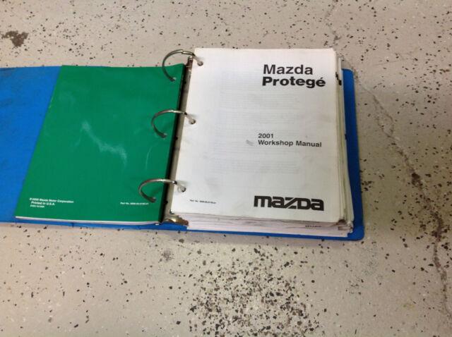 2001 Mazda Protege Service Repair Workshop Shop Manual Oem