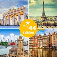 3 Tage Kurzurlaub für 2 Personen Hamburg, Berlin, Dresden, Prag, Wien, Paris uvm