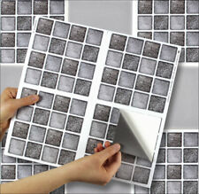 """Self Adhesive Stick On Tile Stickers for Kitchen and Bathroom 6""""x6"""" Transfers"""