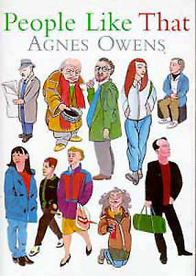"""""""VERY GOOD"""" Owens, Agnes, People Like That, Book"""