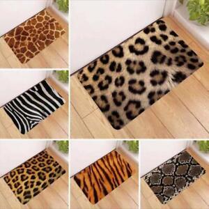 Zebra Animal Print Bath Bed Decor Carpet Area Rug Door ...