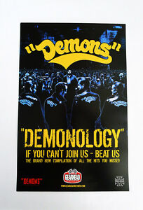 Demons-Demonology-promo-poster-warriors-11in-x-7in-full-color-punk-rock