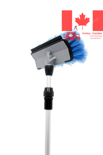 Camco 43633 RV Wash Brush with Adjustable Handle