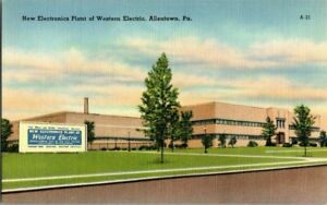 1940-039-S-ALLENTOWN-PA-WESTERN-ELECTRIC-POSTCARD-EE9